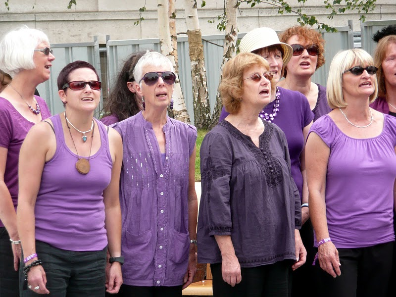 Bradford Voices is a community choir.